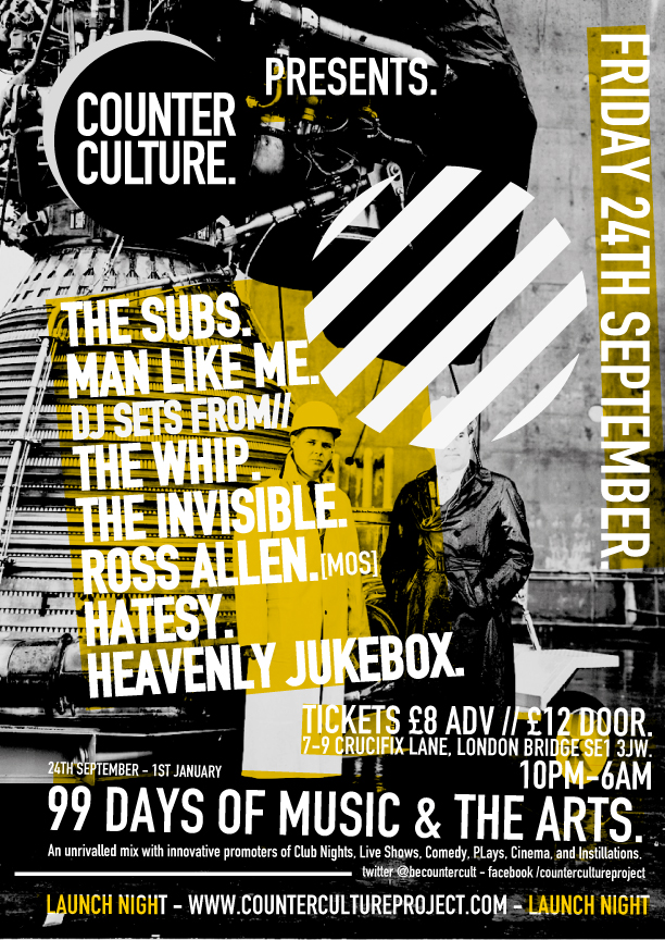 Download this Counter Culture Launch Flyer picture